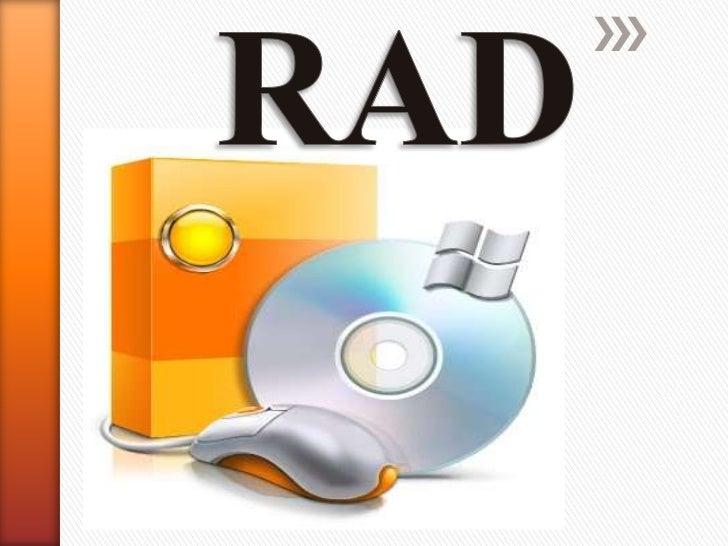 » De las siglas en ingles (Rapid Application  Development) Desarrollo Rápido de  Aplicaciones (RAD) o (DRA), es un modelo ...