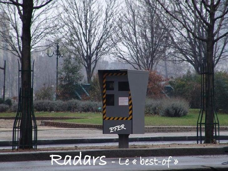 Radars   - Le «best-of» EFER