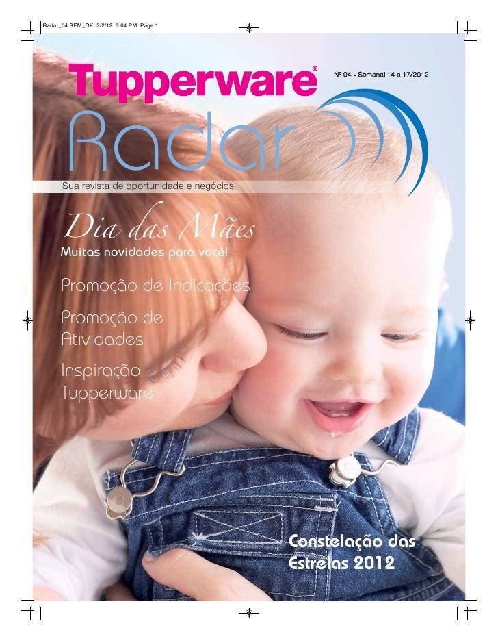 Radar Tupperware 04/2012