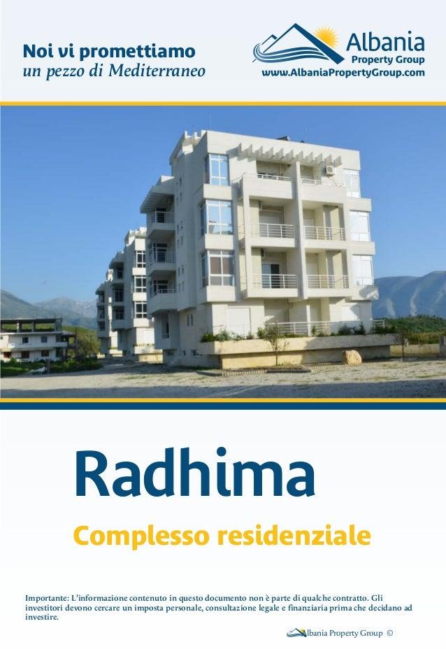 Radhima Residence - in Italiano