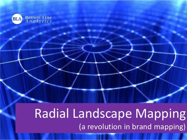 Radial Landscape Mapping (a revolution in brand mapping)
