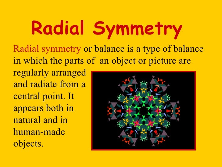 Radial symmetry lessons tes teach for Meaning of symmetrical