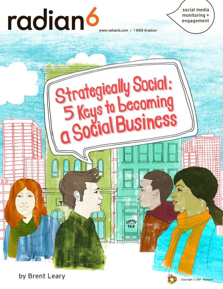 Radian6 strategically social e-book