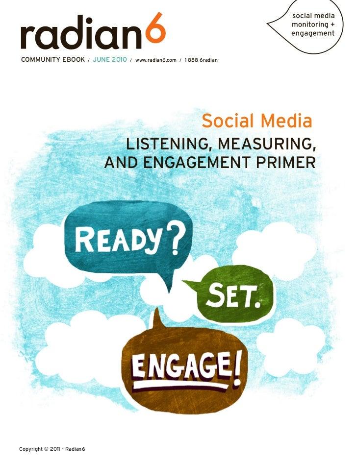 Social Media Listening, Measurement, and Engagement Primer
