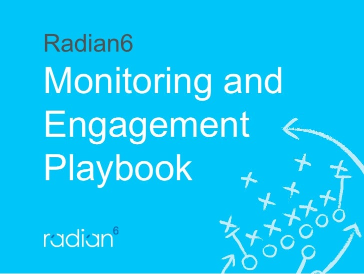 Radian6 Monitoring and Engagement Playbook