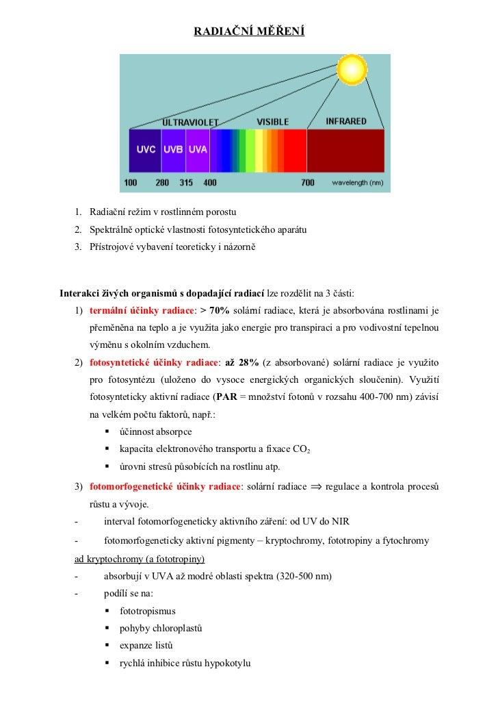 Radiační měření   přednes 05112008