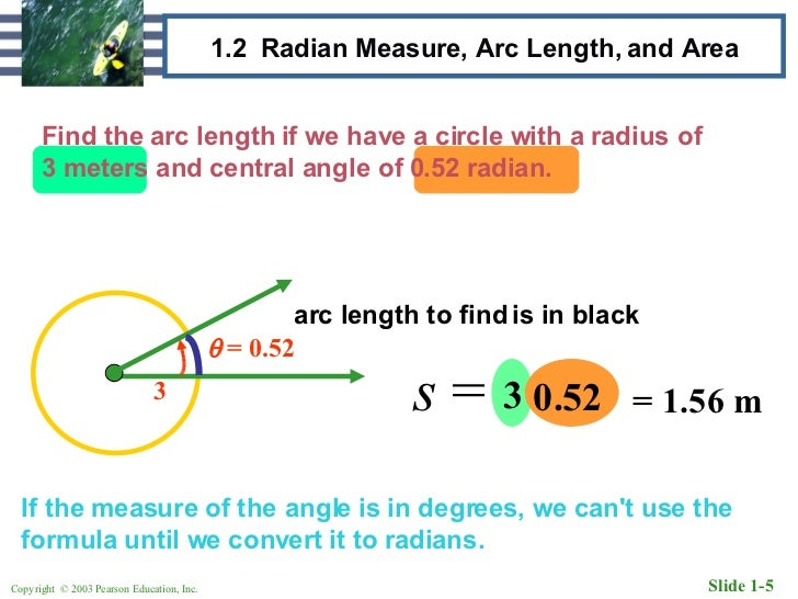 radians to degrees formula