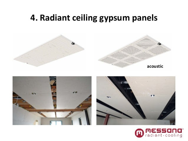 Radiant cooling for residential and commercial for Airrenew drywall