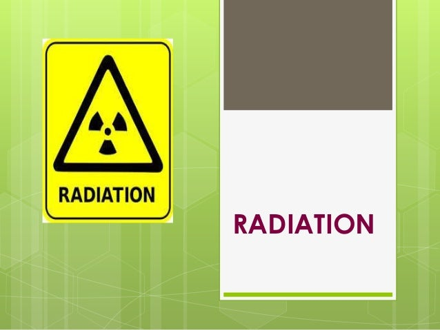 information about radiation