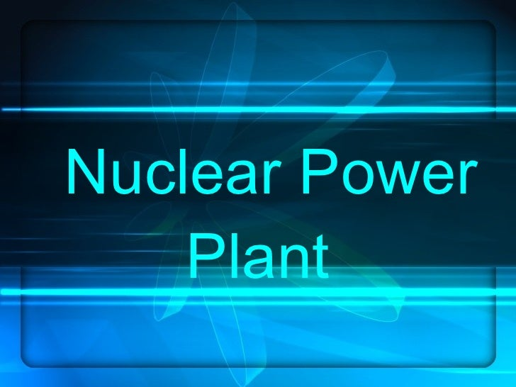 Radiation In Nuclear Power Plants
