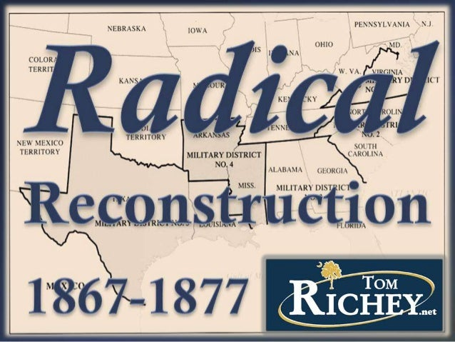 Radical Reconstruction (US History)