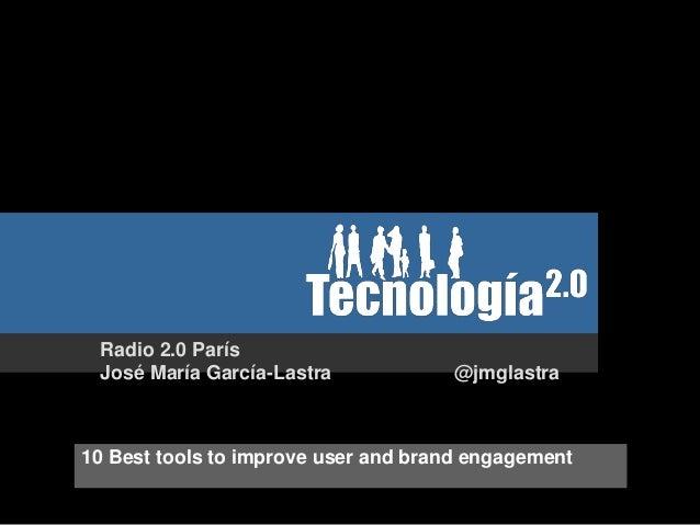 Mi participación en Radio 2.0 París