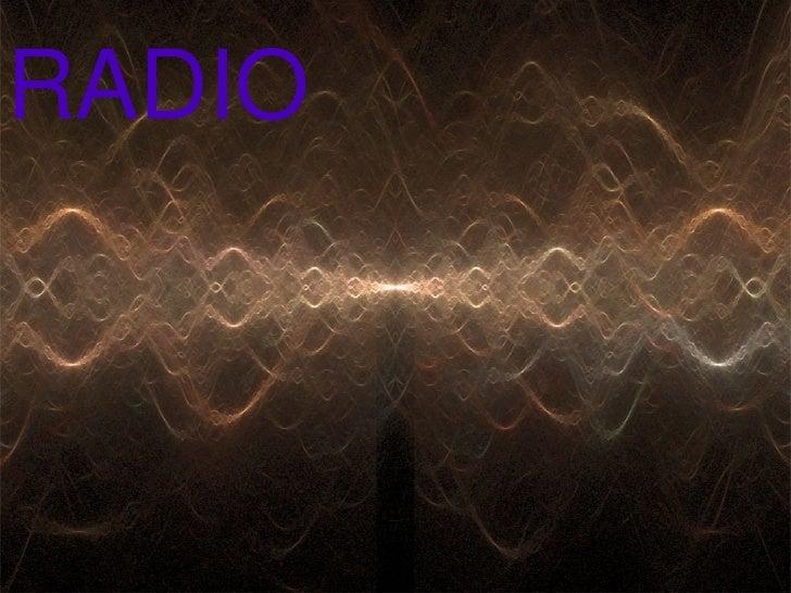 Radio An Intro