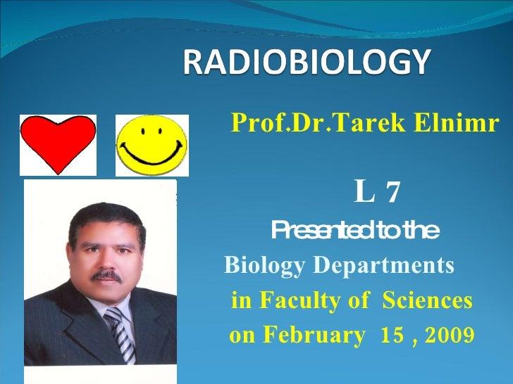 Radiobiology 7م