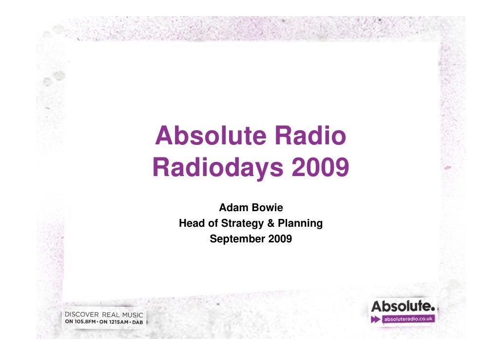 Radio Days Sweden