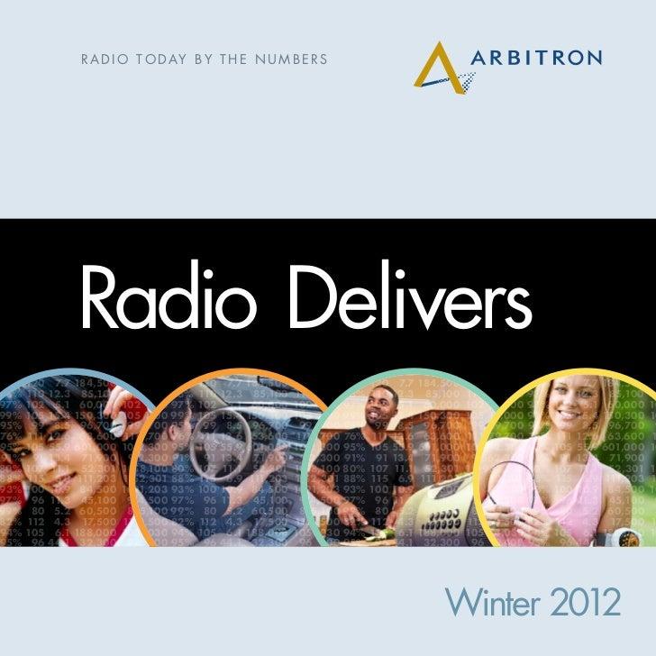 Radio delivers numbers