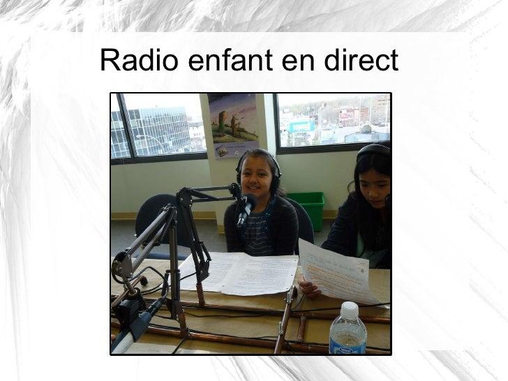 Radio enfant en direct