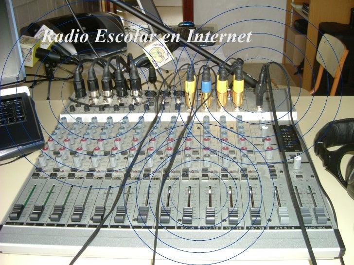 Radio Escolar en Internet
