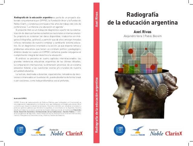 Radiografia de la educación argentina