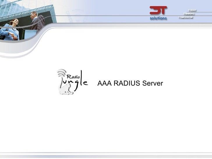 Radiojungle AAA RADIUS introduction