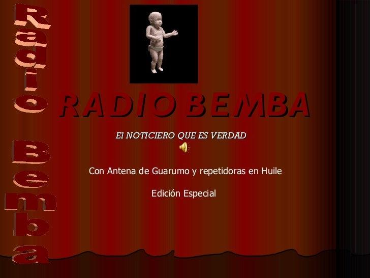 Radio Bemba 2007