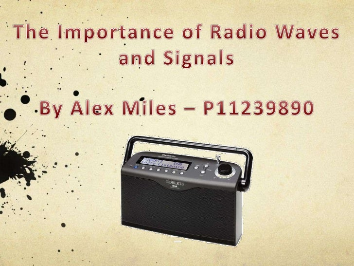 Radio Waves Presentation