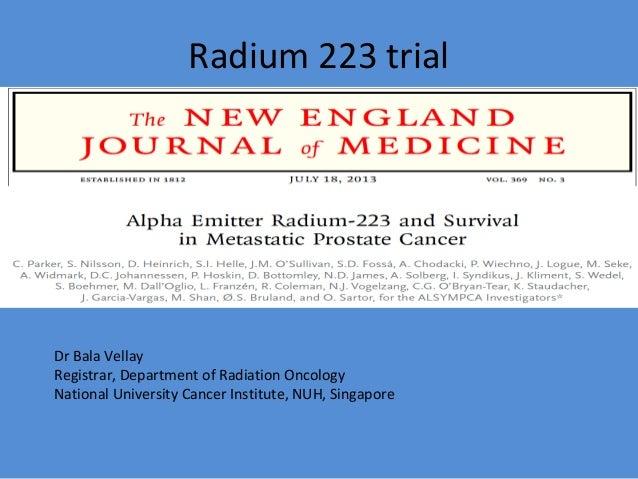 Radium223 for CRPC