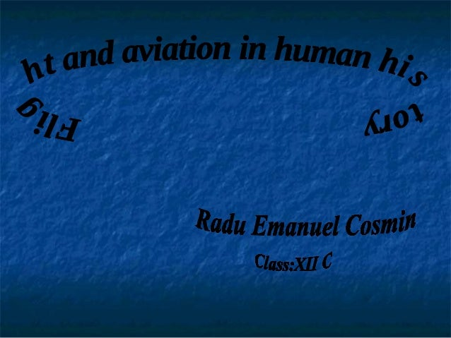 Romanian aeronautics history represented guidance and brought essential contribution to scientific and technical thinking ...