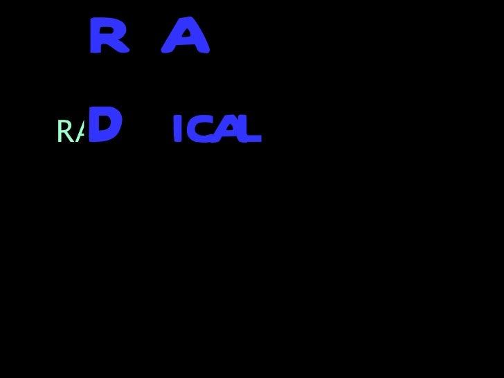 RA  D icalRAD Sites
