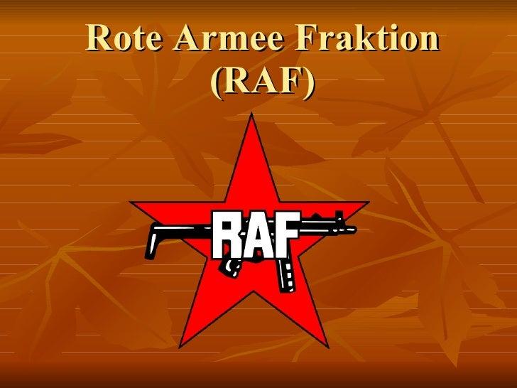 Rote Armee Fraktion (RAF)