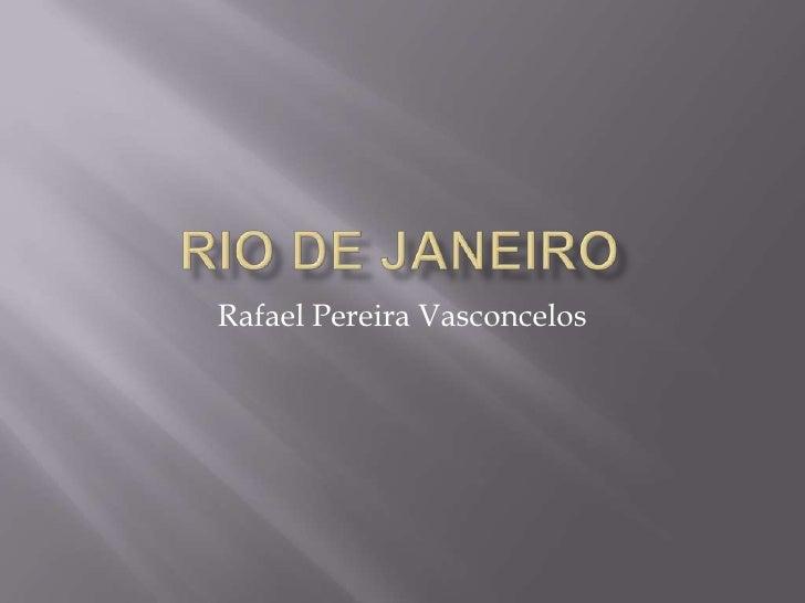 Rafael Pereira Vasconcelos