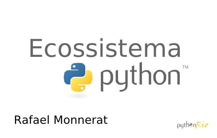 Ecossistema Python