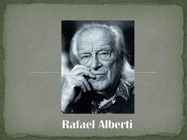 Rafael Alberti<br />