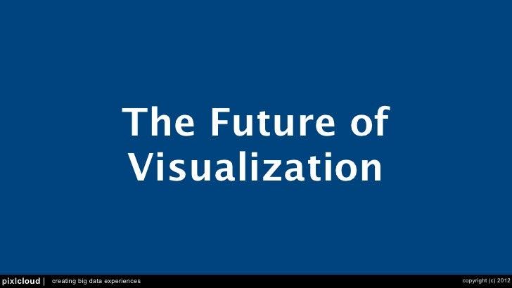 The Future of Visualization