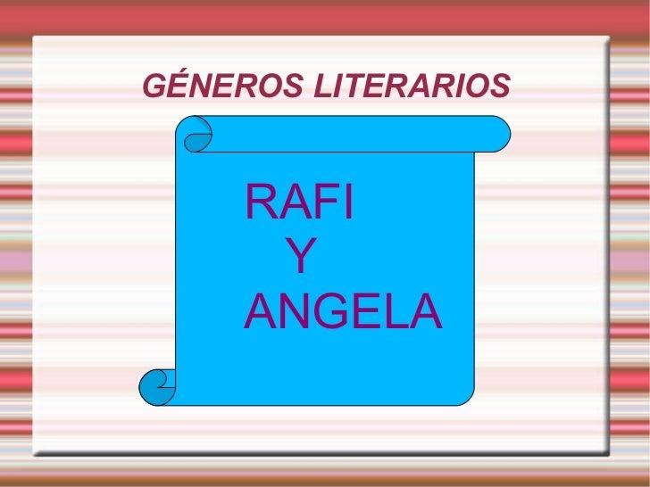 Rafi y angela