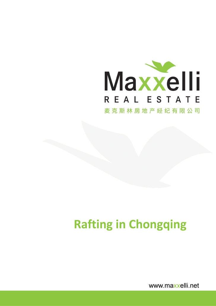Rafting in Chongqing                 www.maxxelli.net