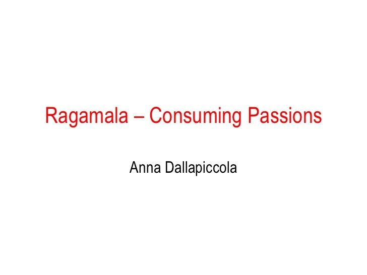 Consuming passions Ragamala   Painting A.L. Dallapiccola