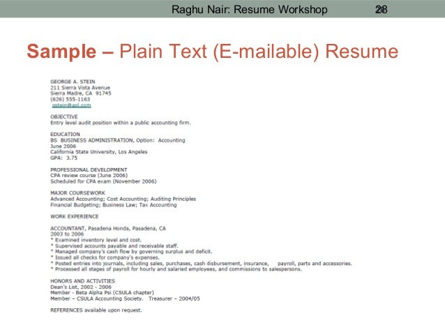 Text Resume Format. Text Resume Sample Resume Cv Cover Letter Text