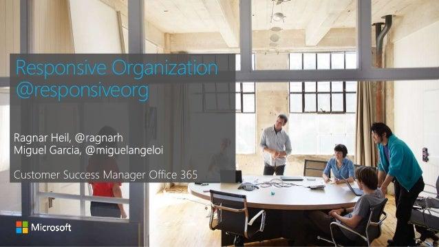 Responsive Organization  @responsiveorg