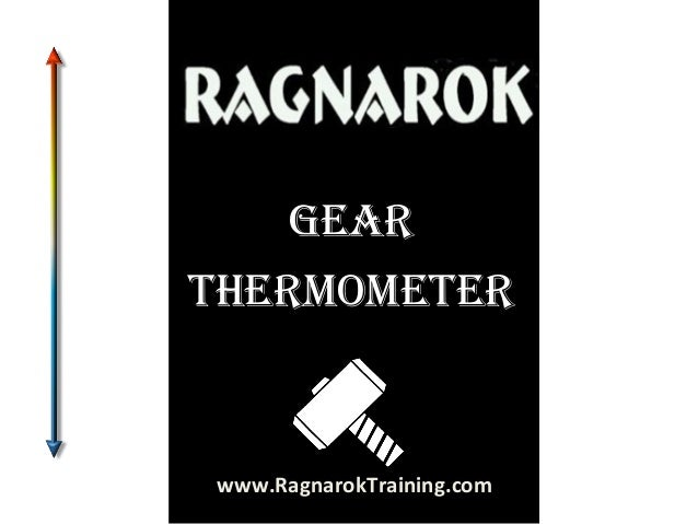 Gear ThermomeTer  www.RagnarokTraining.com