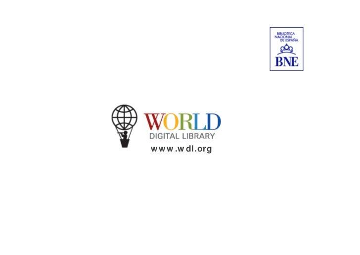 World Digital Library. Michelle Rago