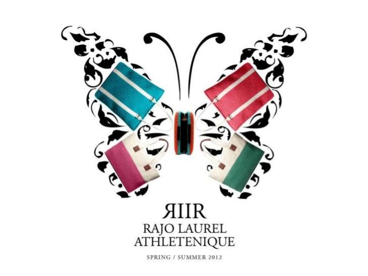 Rags2Riches Rajo Laurel 2012 Athletenique Collection