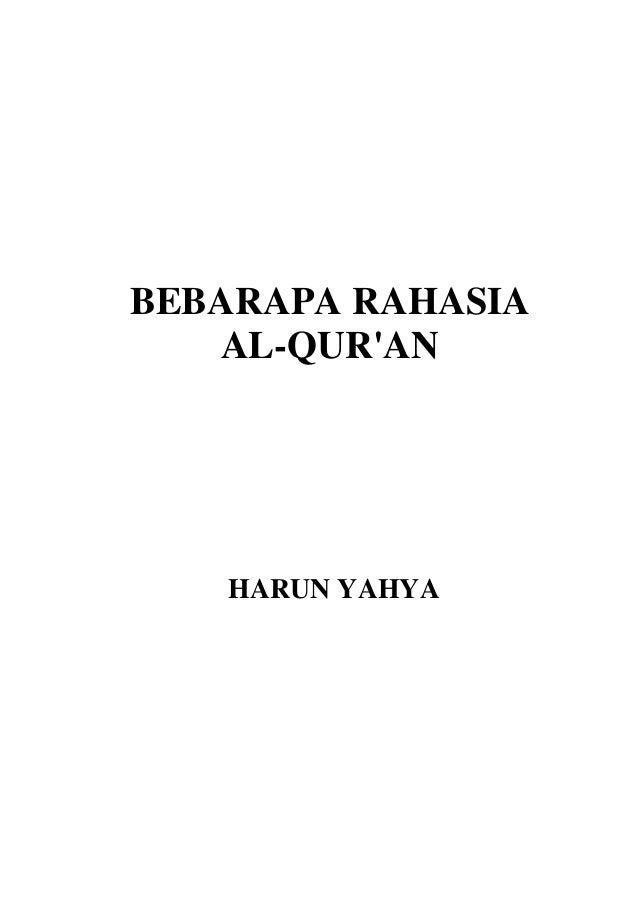 Rahasia Al-Quran - Harun Yahya