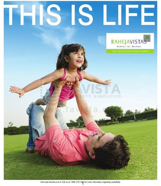 Raheja vistas brochure 782 Favista Real Estate