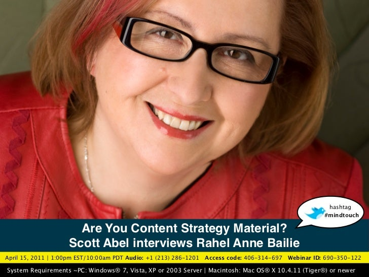 Are You Content Strategy Material?