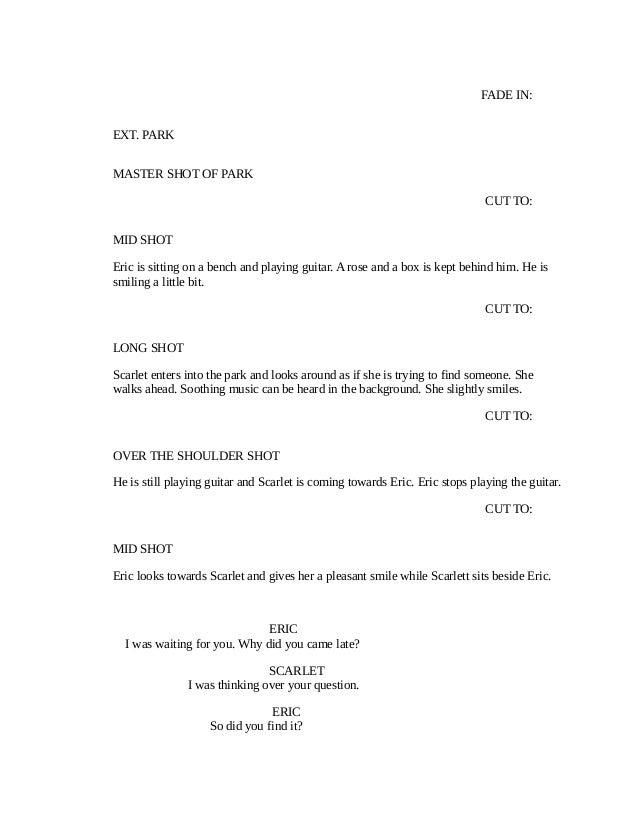 Final Screenplay