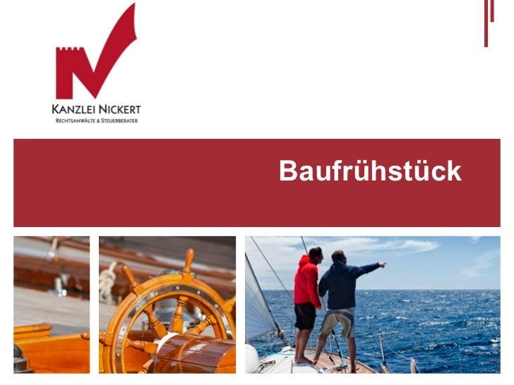 Rahmenbedingungen fuer Bauleistungen deutscher Unternehmen in Frankreich