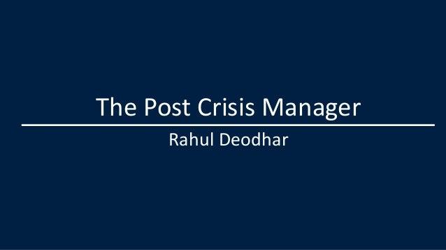Rahul deodhar nmims ftmba presentation june2013