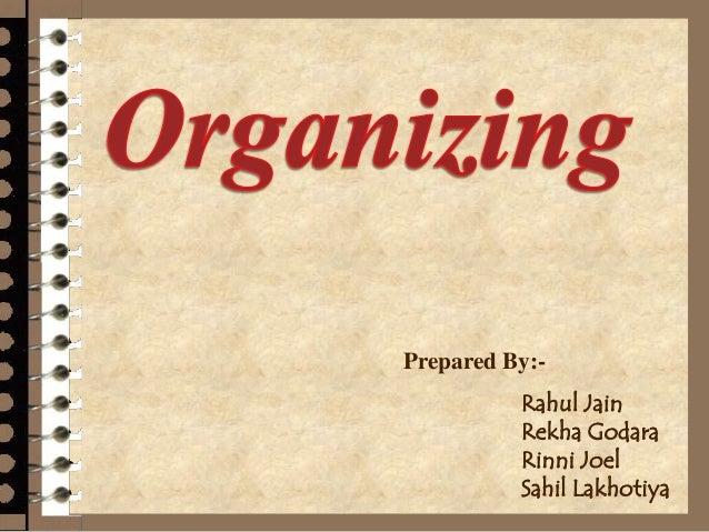 Rahul organizing