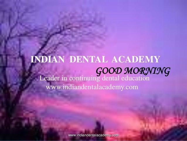 Raida iii /certified fixed orthodontic courses by Indian dental academy